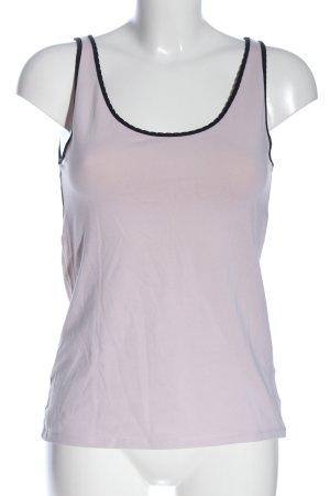 H&M Tanktop pink-schwarz Casual-Look