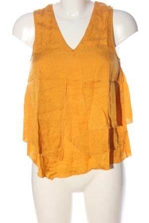 H&M Tanktop licht Oranje dierenprint casual uitstraling