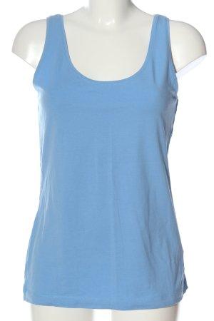 H&M Tanktop blau Casual-Look