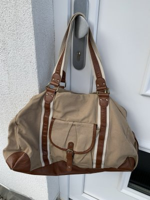 H&M Burlap Bag multicolored