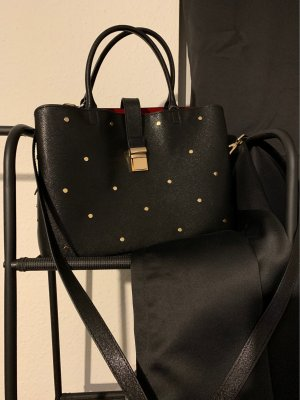 H&M Tasche Black and Red