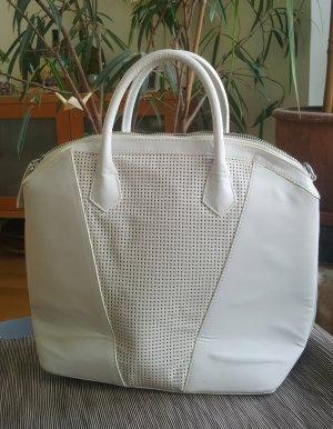 H&M Shopper white