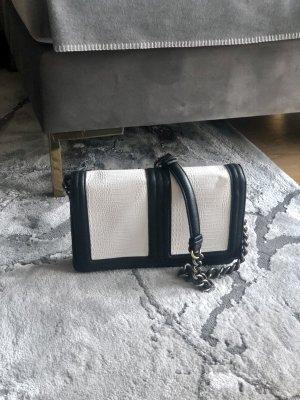 H&M Tasche schwarz weiß Crossbody
