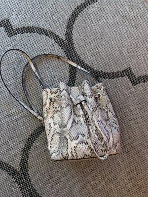 H&M Tasche Umhängetasche Beutel Schlangenmuster Snake