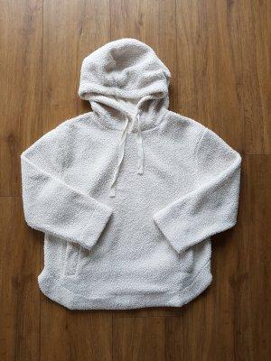 H&M Pull oversize blanc-blanc cassé