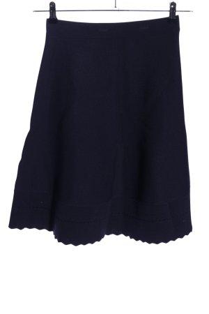 H&M Tellerrock blau Business-Look