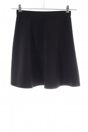 H&M Circle Skirt black business style
