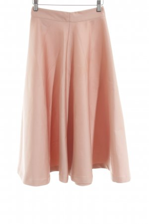 H&M Circle Skirt nude business style