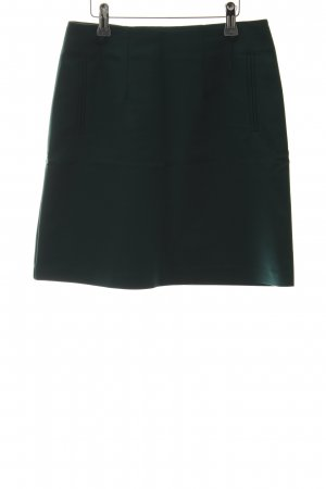 H&M Circle Skirt forest green business style