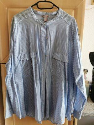 Alexander Wang for H&M Camicetta a maniche lunghe bianco-azzurro
