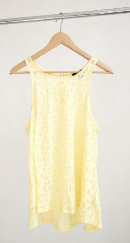 H&M Top-gelb