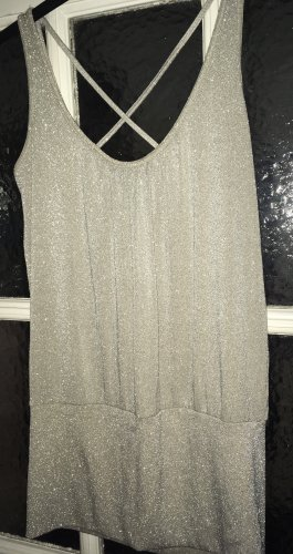 H&M Top in Gold, Partylook/Retro 70er Style