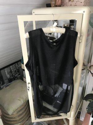 H&M Lange top zwart Viscose