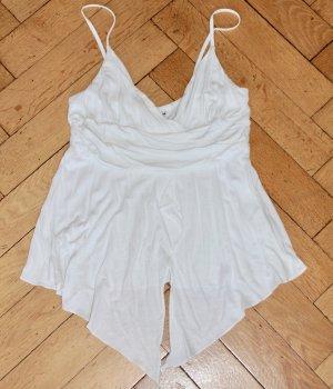 H&M Top weiß griechisch römischer Stil Gr. S Träger