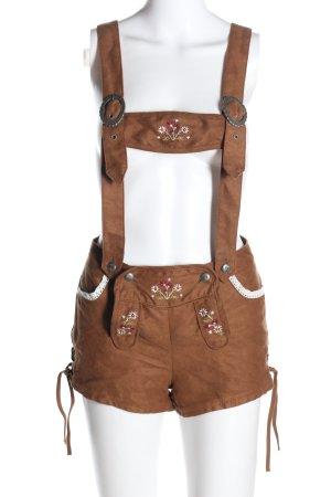 H&M Pantalon bavarois brun style classique