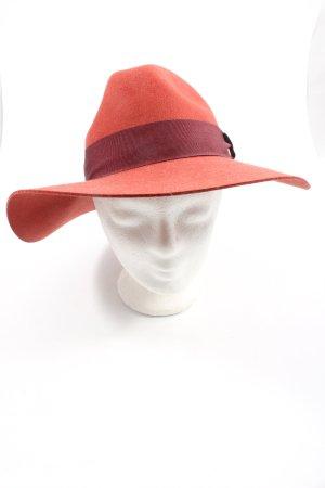 H&M Miękki kapelusz z szerokim opuszczonym rondem czerwony W stylu casual