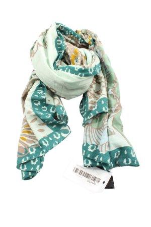 H&M Pañuelo folclórico estampado con diseño abstracto elegante