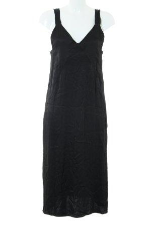 H&M Trägerkleid schwarz Elegant