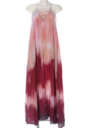 H&M Trägerkleid pink-creme Farbverlauf Casual-Look