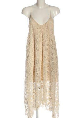 H&M Trägerkleid creme Elegant