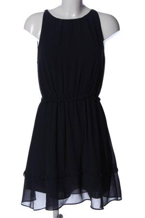 H&M Chiffonkleid blau Elegant