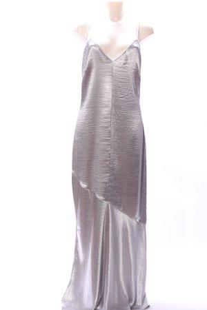 H&M Trägerkleid silberfarben Elegant