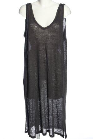 H&M Trägerkleid silberfarben Casual-Look