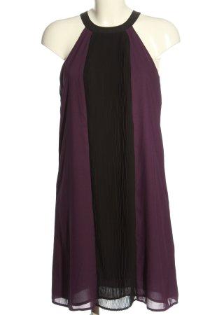 H&M Trägerkleid lila-schwarz Casual-Look