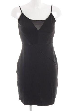 H&M Trägerkleid schwarz Business-Look