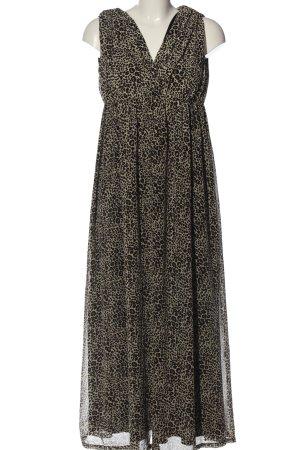 H&M Vestido babydoll estampado repetido sobre toda la superficie elegante