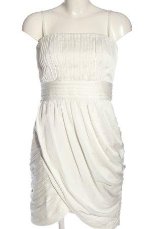 H&M Trägerkleid weiß Elegant