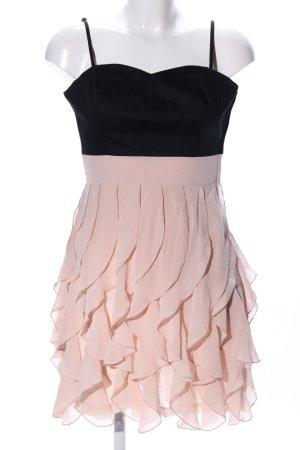 H&M Trägerkleid pink-schwarz Elegant