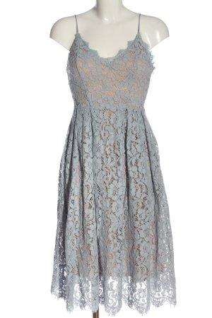 H&M Trägerkleid nude-blau Elegant