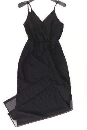 H&M Trägerkleid Größe 34 schwarz