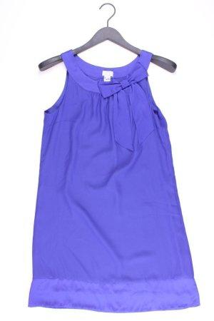 H&M Trägerkleid Größe 36 Ärmellos blau aus Polyester