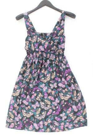 H&M Trägerkleid Größe 38 mit Tierdruck mehrfarbig aus Polyester