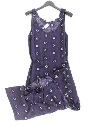 H&M Trägerkleid Größe 40/42 mit Gürtel lila aus Viskose