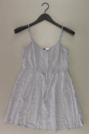 H&M Trägerkleid Größe 40 weiß aus Viskose