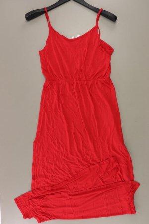 H&M Trägerkleid Größe M rot aus Viskose