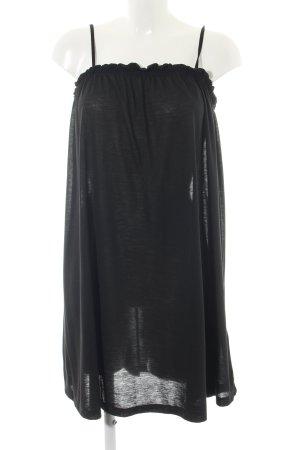 H&M Trägerkleid schwarz Casual-Look Polyester