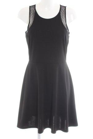 H&M Trägerkleid schwarz Casual-Look