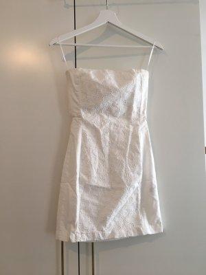 H&M / Trägerloses Kleid mit Spitze und Rückendetail