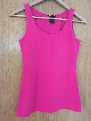 H&M Trägershirt pink
