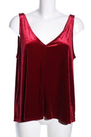 H&M Canotta a bretelle rosso stile casual