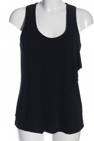 H&M Trägertop schwarz Casual-Look