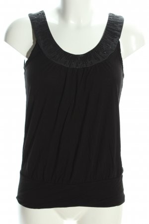 H&M Trägertop schwarz Elegant