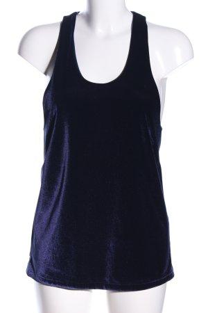 H&M Trägertop blau Casual-Look