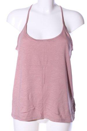 H&M Trägertop pink meliert Casual-Look