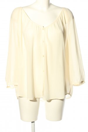 H&M Transparenz-Bluse creme Casual-Look