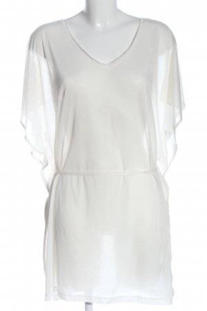H&M Transparenz-Bluse weiß Casual-Look